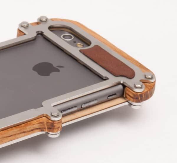 Iphone  Steel Case