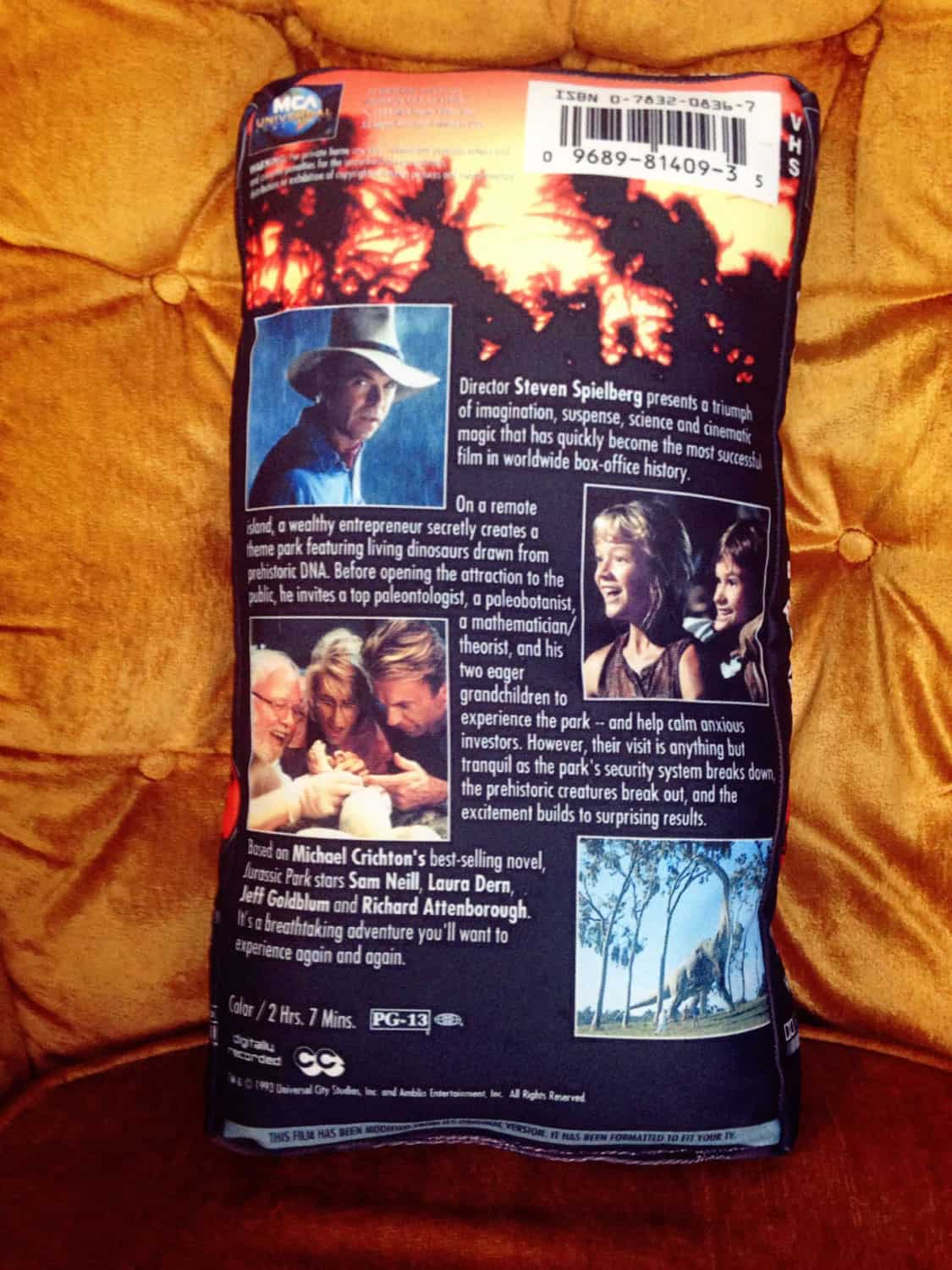 The UFO Party Oversized VHS Pillow Custom Gift to Buy