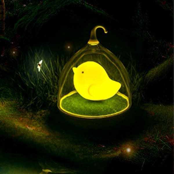 Touch Control Bird LED Night Lamp Soft Glow