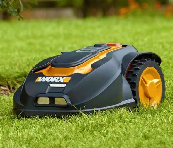 Mowing the lawn can now be automated!