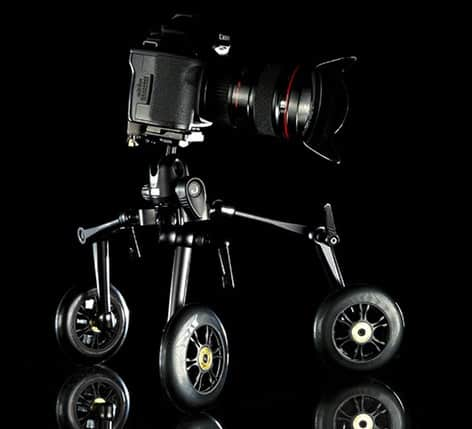 Zipshooter Ultra Portable Dolly System Black Camera