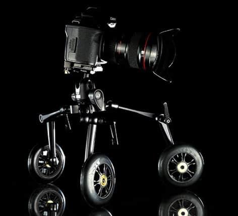 Zipshooter Ultra Portable Dolly System Black Camera