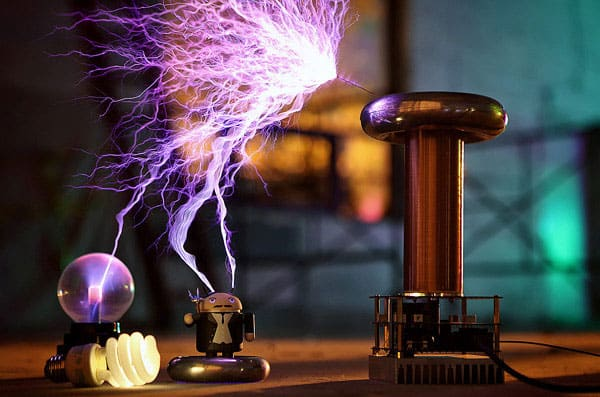 one Tesla Musical Tesla Coil Kit Buy Cool Geek Product