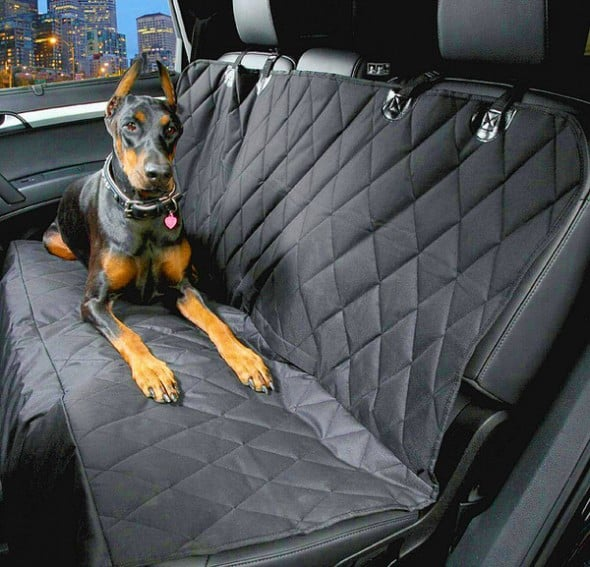 4Knines Dog Seat Cover Dobeman Pinscher