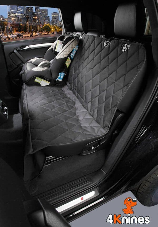 4Knines Dog Seat Cover Pet Travel Accessory
