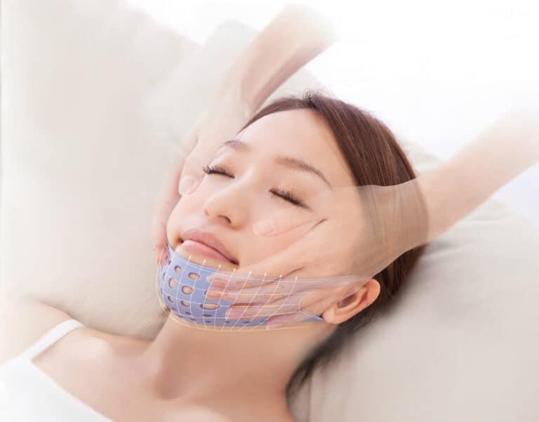 Aga-Ru Sleeping Hammock Face Lift Up Mask Weird Japanese Beauty Product