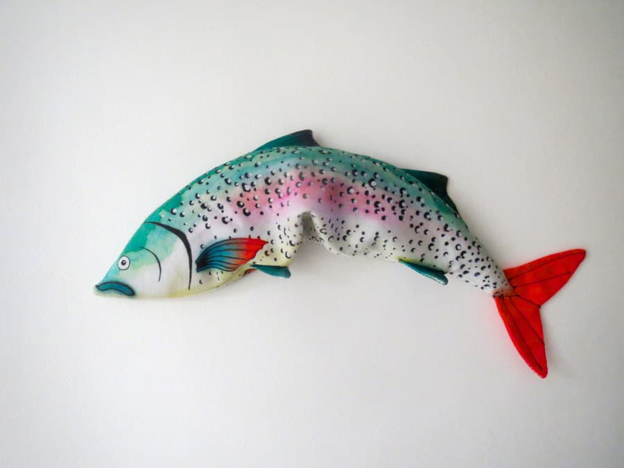 Alia Grace Dolls Rainbow Trout Eye Pillow Cute Fish