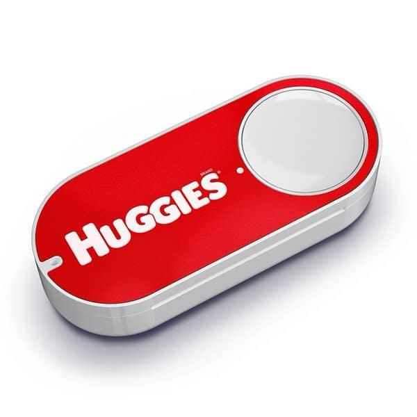 Amazon Dash Button Huggies