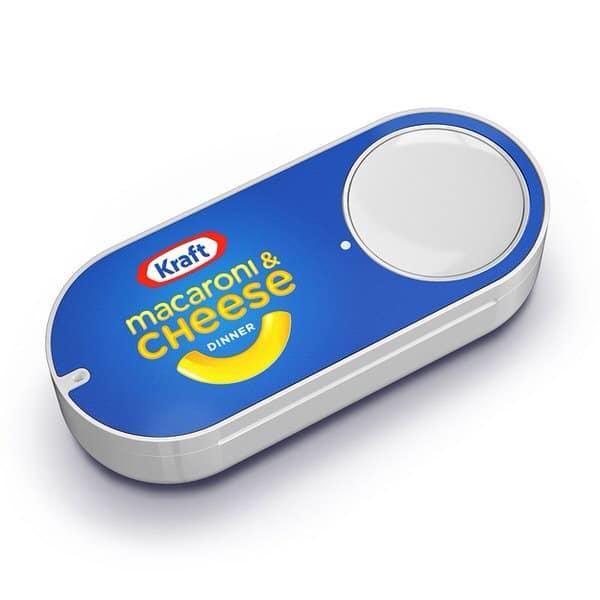 Amazon Dash Button Kraft Mac and Cheese