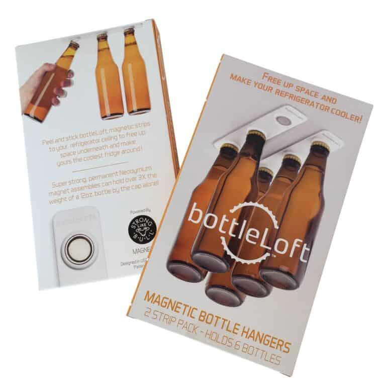 Bottle Loft Magnetic Bottle Hanger Box Packaging