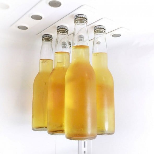 Create a place in your fridge where the cool drinks can hangout.