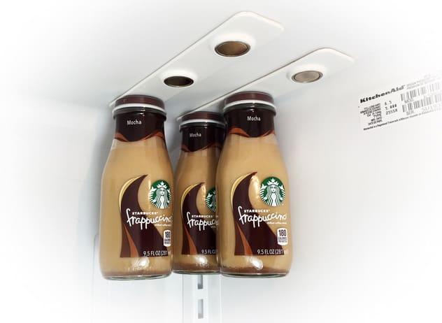 Bottle Loft Magnetic Bottle Hanger Starbucks Frapuccino