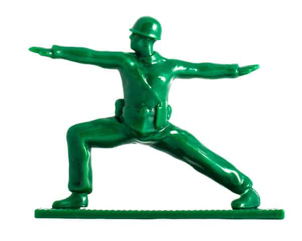 Brogamats Yoga Joes Warrior Two