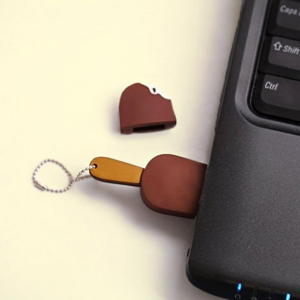 Chocolate Ice Cream Bar USB Cute Gift Idea