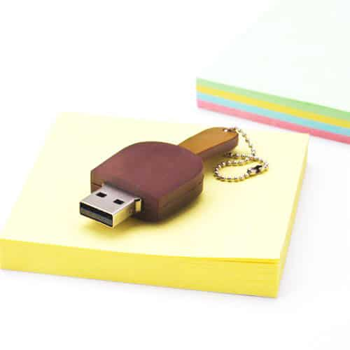 Chocolate Ice Cream Bar USB Gift for Techie Girl Friend