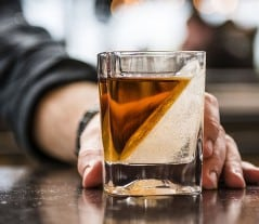 A new slant on whiskey sipping.