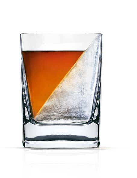 Corkcicle Whiskey Wedge Square Glass