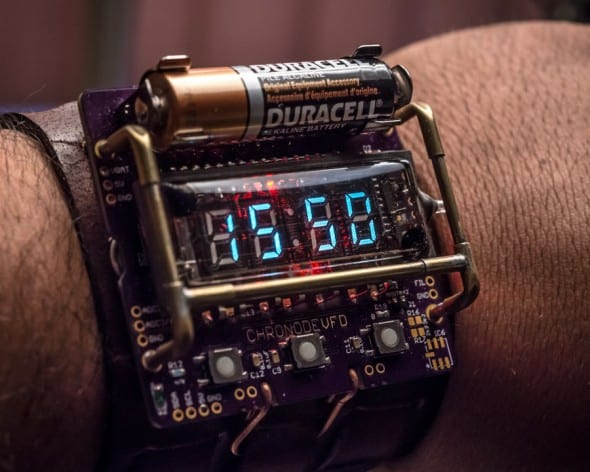 Cyberpunk Wristwatch Cosplay Accessory