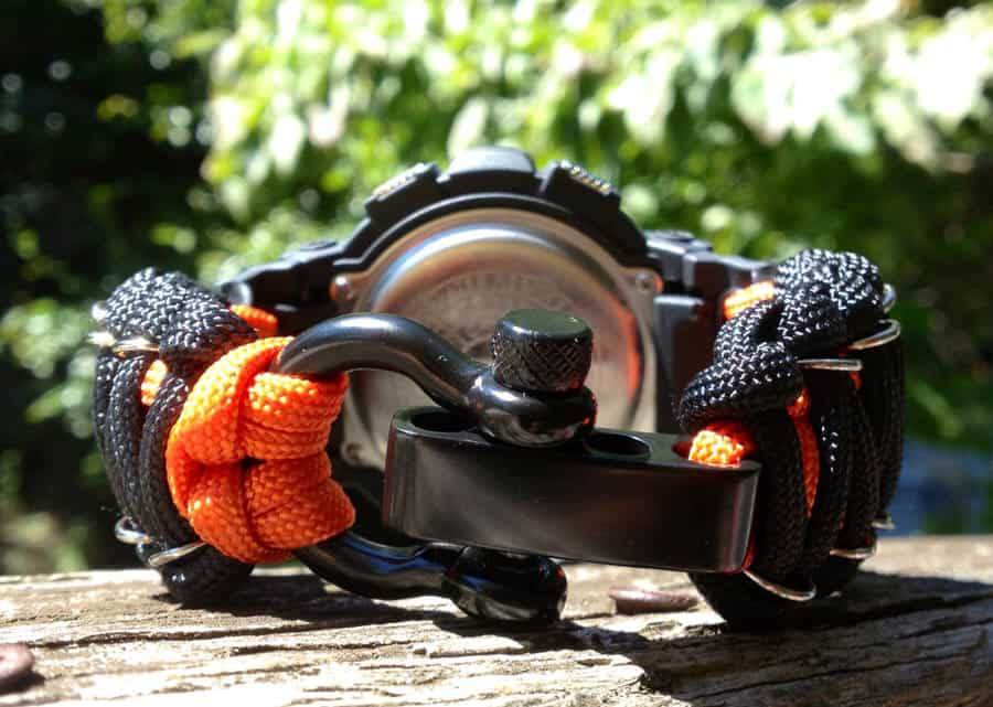 Flips Tactical 550 Gear Paracord Armitron Watch Cool Gift for Outdoor People
