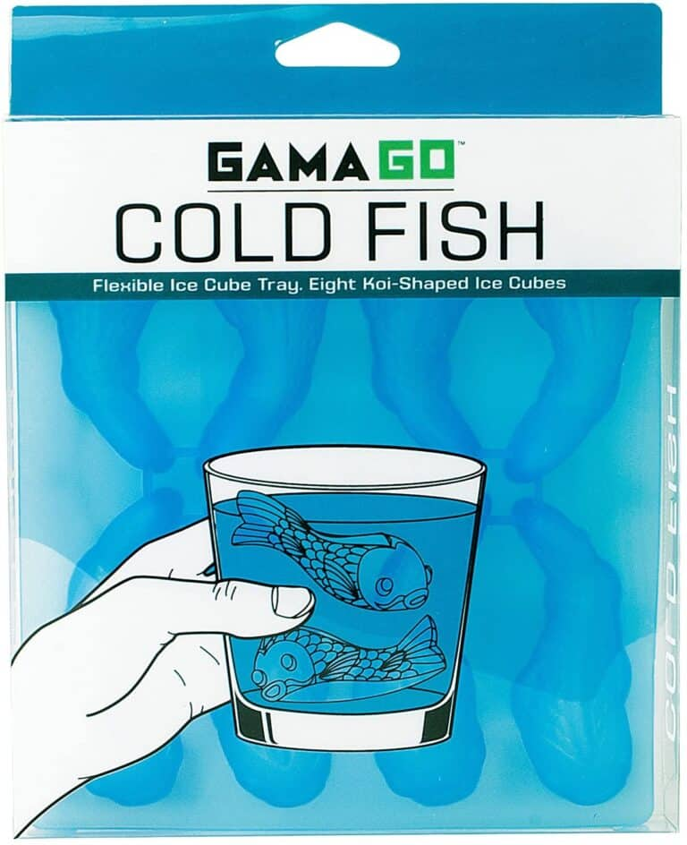 Gamago Cold Fish Flexible Ice Cube Mold Box