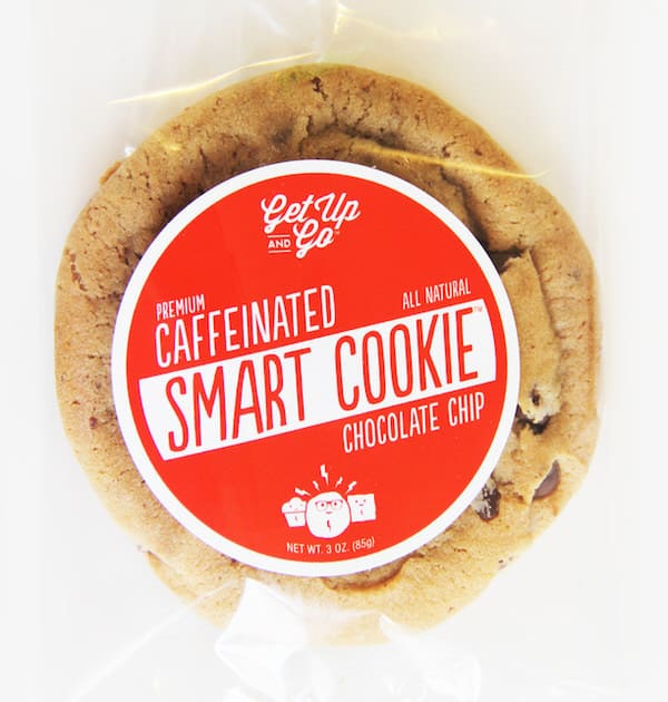 Get Up and Go Caffeinated Smart Cookies Power Drink Alternative