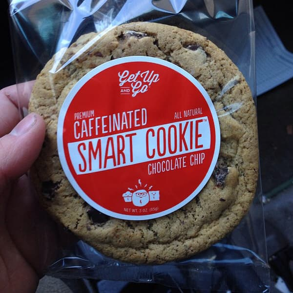 Get Up and Go Caffeinated Smart Cookies Power Snack