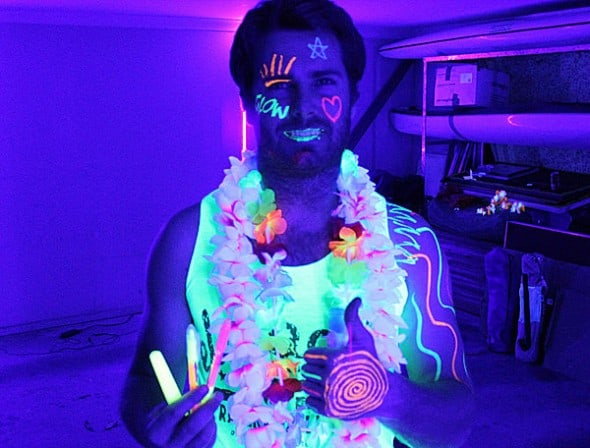 Glow Party World Complete Glow Party Black Light Kit Buy Cool Rave Accessory