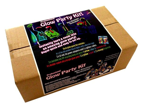Glow Party World Complete Glow Party Black Light Kit Package
