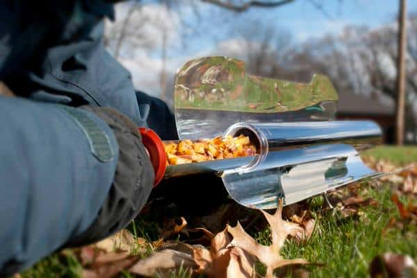 Go Sun Stove Portable Solar Oven Cook using the Sun