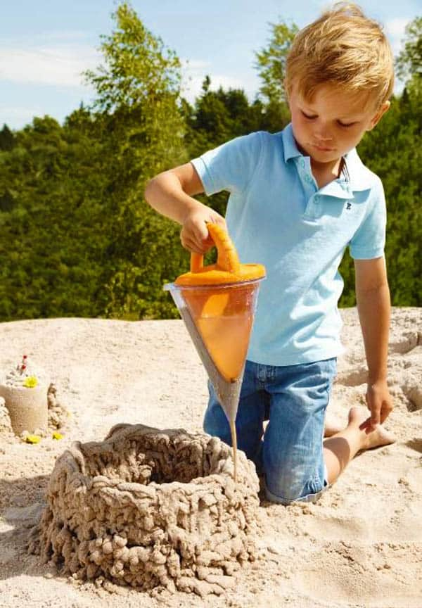 Build your sand castle like a pro!