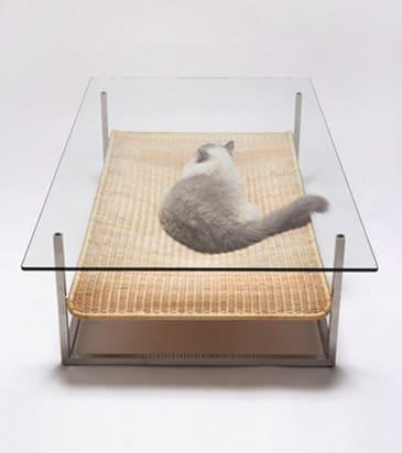 Hammock Coffee Table by Koichi Futatsumata Cat Furniture
