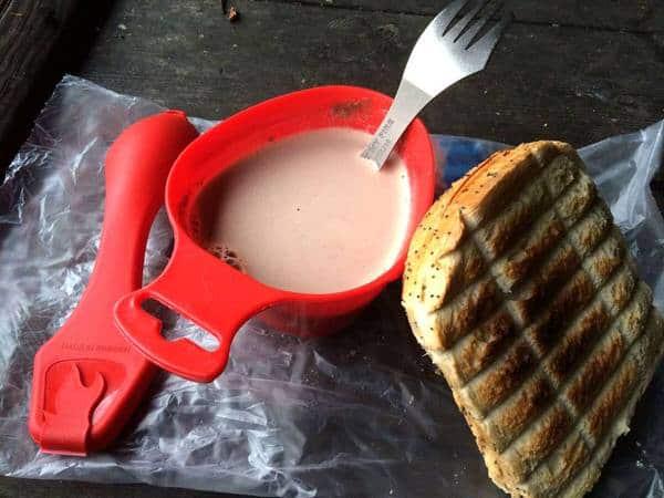 Light My Fire Titanium Spork Red Mug Coffee
