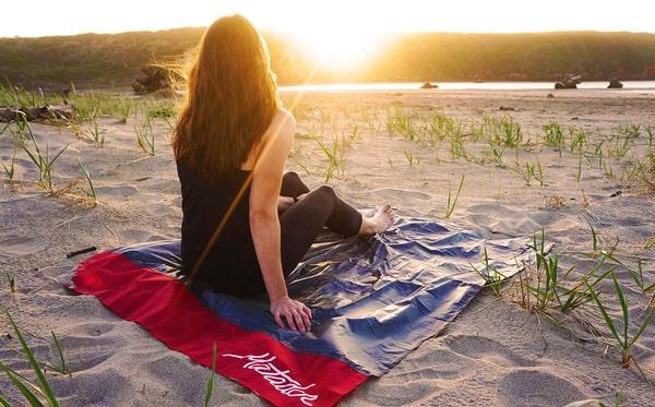Matador Pocket Blanket Sunset on the Beach