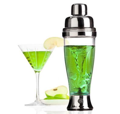 Metrokane Rabbit Electric Cocktail Mixer Green Liquid