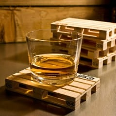 Miniature Pallet Coasters Hipster Home Design