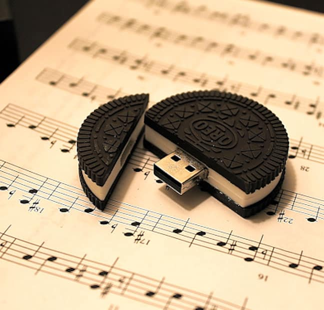 Have a tasty oreo cookie byte.