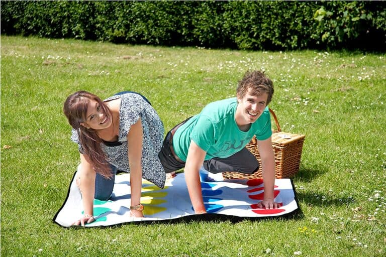 Paladone Twister Picnic Blanket Fun Outdoor Couple Game