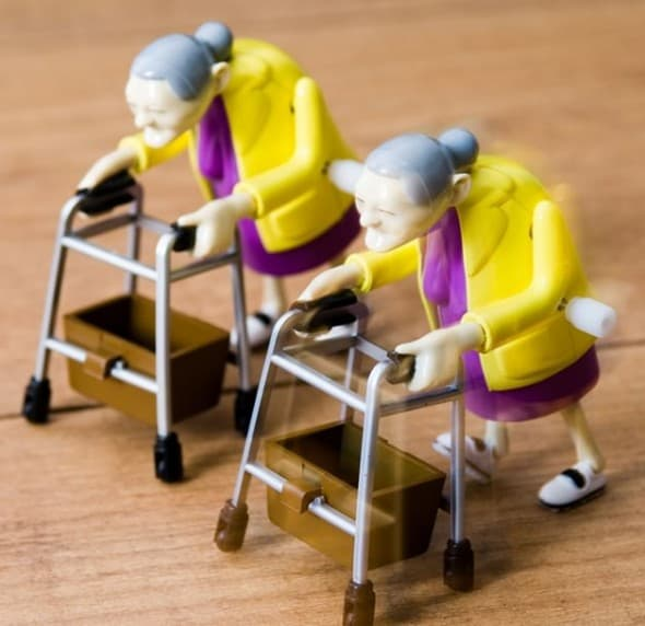 Racing Grannies Funny Toy to Buy