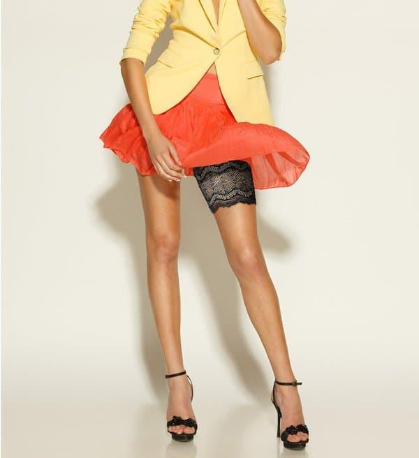 Sassy Stash Garter Pocket Accessory Trendy Sexy Fashion