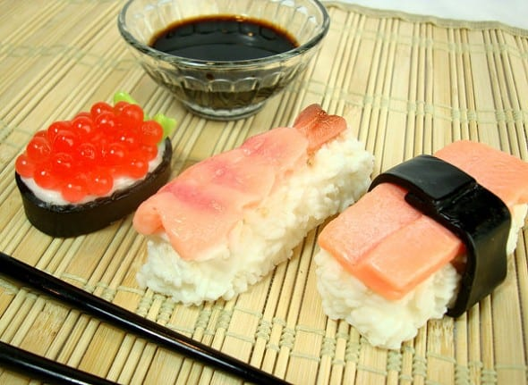 Soapopotamus Sushi Soap Set Japanese Bathroom Theme