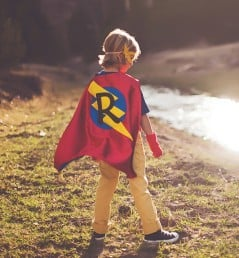 Make your kid a superhero.