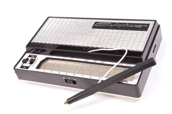 Thinkgeek Stylophone Retro Pocket Synth Gift Idea for Musicians