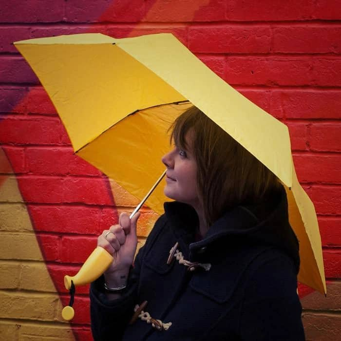 Um-Banana Compact Umbrella Quirky Fashion Statement