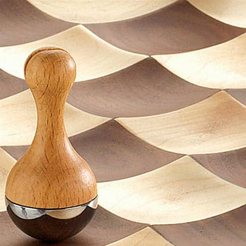 Umbra Wobble Chess Set Wooden Pawn