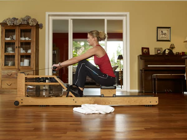 WaterRower Natural Rowing Machine All Around Workout