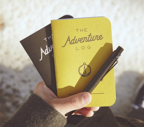 Word Notebooks Adventure Log Cool Gift for Travelers