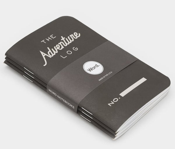 Word Notebooks Adventure Log Explorer Must Have