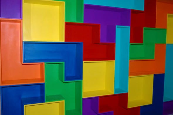 1Up Living Tetris Shelves Geek Furniture to Buy