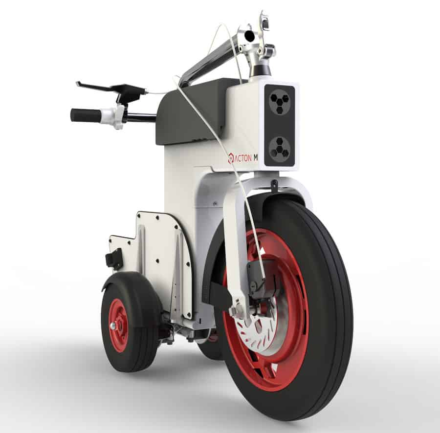 Acton M Scooter Sexy Vehicle Design