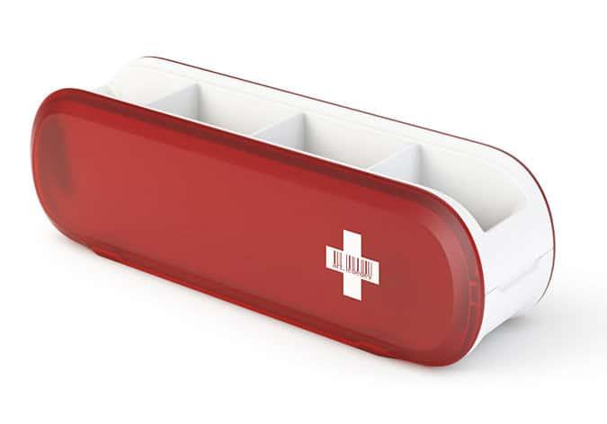 Art Lebedev Studio Swissarmius Kitchen and Desk Organizer Interesting Novelty Product
